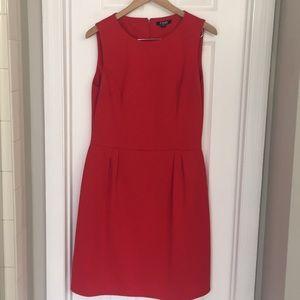Chaps Red Dress Size 14 EUC